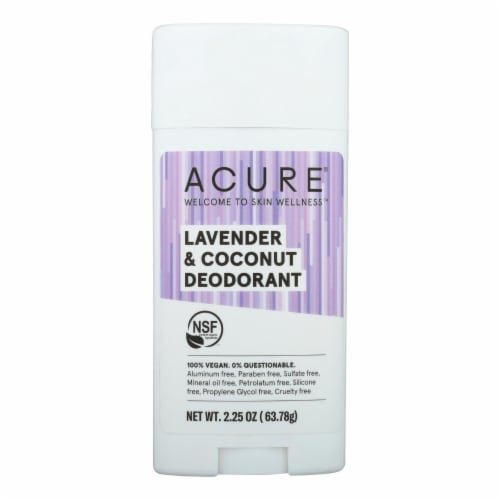 Acure - Deodorant - Lavender and Coconut - 2.25 oz Perspective: front