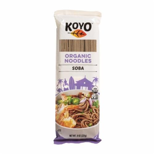 Koyo Organic Soba Noodles - Case of 12 - 8 OZ Perspective: front