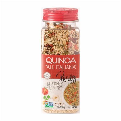 Pereg Quinoa - All Italiana - Case of 6 - 10.58 oz. Perspective: front