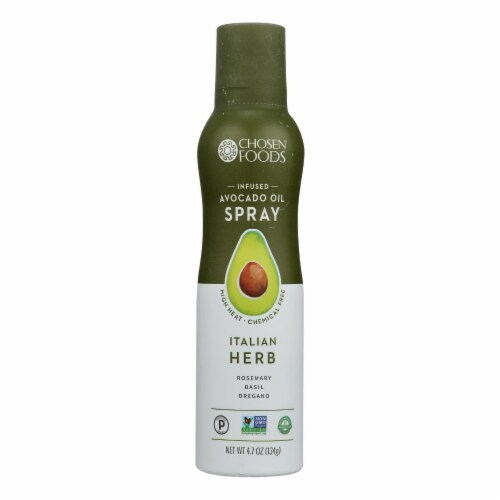 Chosen Foods - Spray Itlherb Inf.avo Oil - Case of 6 - 4.7 OZ Perspective: front