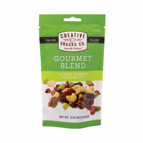 Creative Snacks - Gourmet Blend - Case of 6 - 2.75 oz Perspective: front