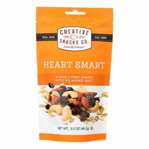Creative Snacks Co. Heart Smart Nut Mix  - Case of 6 - 3.5 OZ Perspective: front