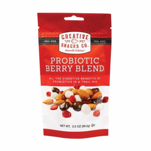 Creative Snacks - Snack - Probiotic Berry Blend - Case of 6 - 3.5 oz Perspective: front
