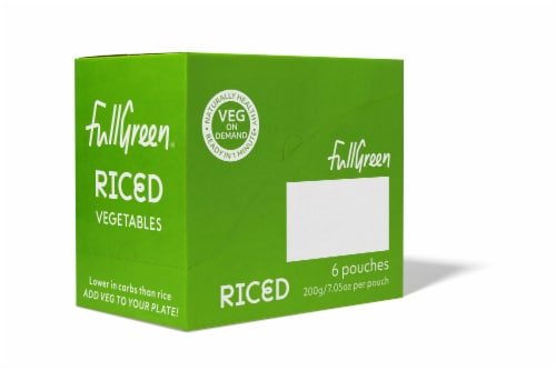 Fullgreen Riced Cauliflower Perspective: front