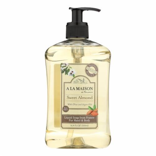 A La Maison - French Liquid Soap - Sweet Almond - 16.9 fl oz Perspective: front