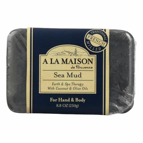 A La Maison - Bar Soap - Sea Mud - 8.8 Oz Perspective: front