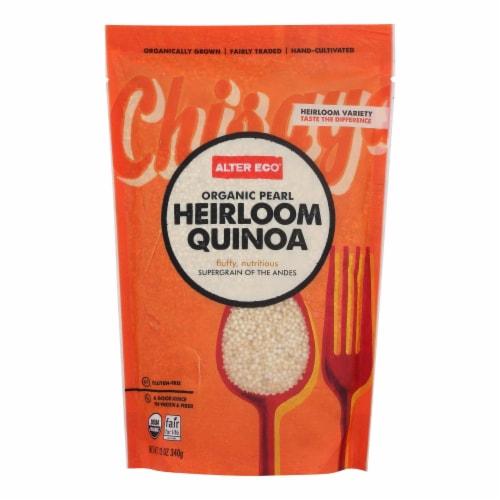 Alter Eco Americas Quinoa - Organic Pearl Heirloom - Case of 6 - 12 oz. Perspective: front