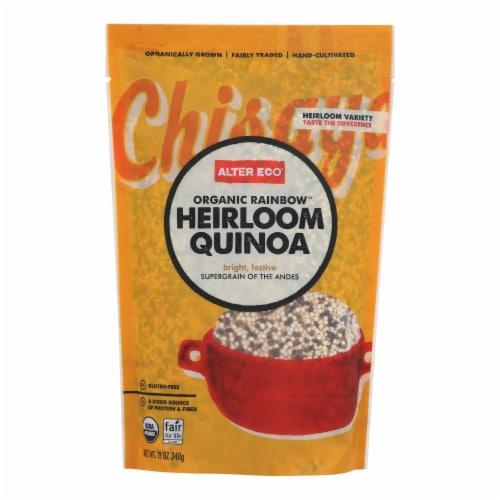 Alter Eco Americas Quinoa - Organic Rainbow Heirloom - Case of 6 - 12 oz. Perspective: front