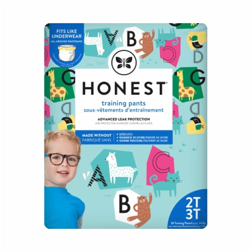 The Honest Company - Training Pants Abc 2t-3t - 1 Each - 26 CT Perspective: front