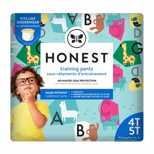 The Honest Company - Training Pants Abc 4t-5t - 1 Each - 19 CT Perspective: front