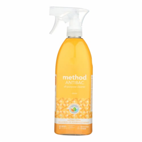 Method - Method - All-Purpose Cleaner - Antibacterial Citron - Case of 8 - 28 fl oz. Perspective: front