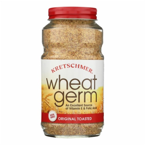 Kretschmer Original Toasted Wheat Germ - Case of 6 - 12 OZ Perspective: front