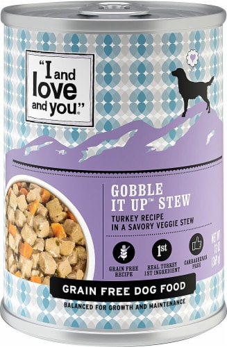 I and Love and You Turkey Recipe Gobble It Up Stew Perspective: front