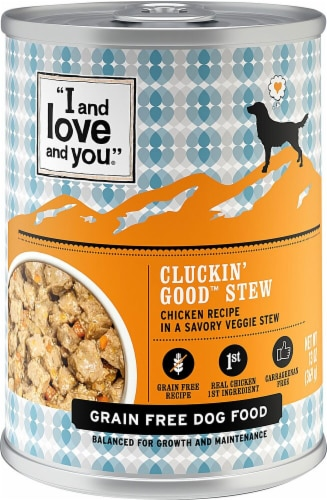 I and Love and You Chicken Recipe Cluckin Good Stew Perspective: front