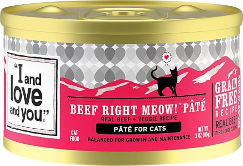I and Love and You  Beef Right Meow Recipe   Beef Pate Perspective: front