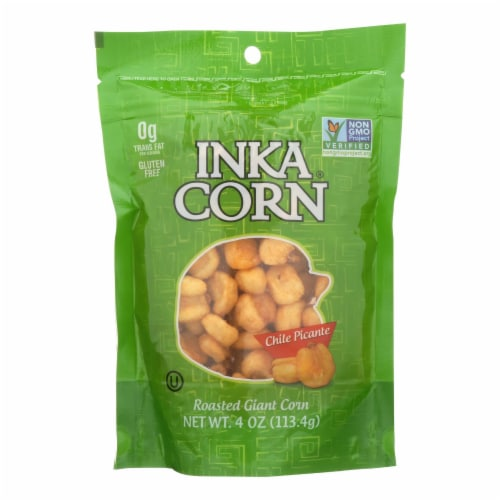Inka Crops - Inka Corn - Chile Picante - Case of 6 - 4 oz. Perspective: front