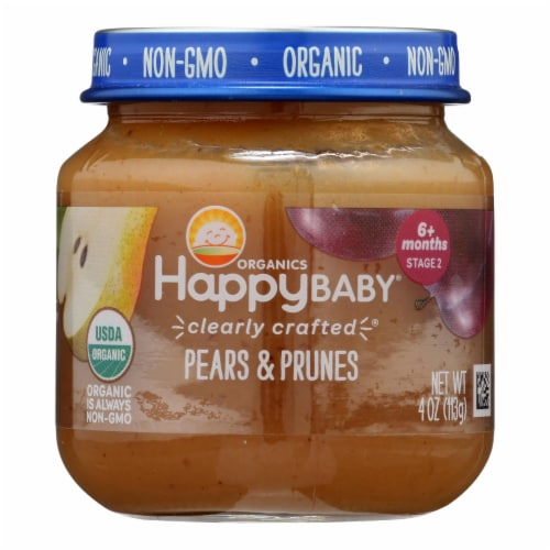 Happy Baby - Cc Pears Prn Stg2 - Case of 6 - 4 OZ Perspective: front