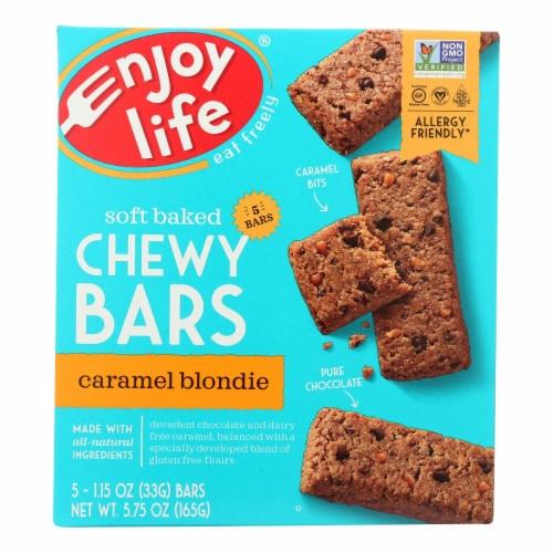 Enjoy Life - Snack Bar - Caramel Blondie - Case of 6 - 5.75 oz. Perspective: front
