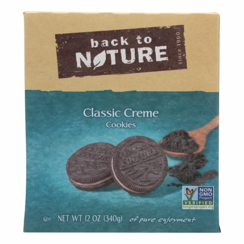 Back To Nature Classic Creme Cookies Perspective: front