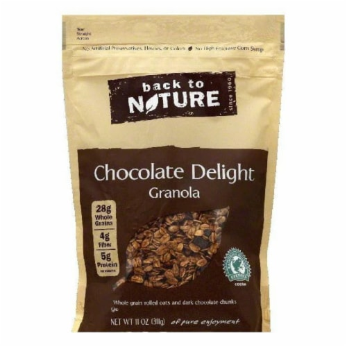 Back To Nature Chocolate Delight Granola, 11 OZ (Pack of 6) Perspective: front