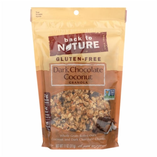 Back To Nature Granola - Dark Chocolate Coconut - Case of 6 - 11 oz. Perspective: front