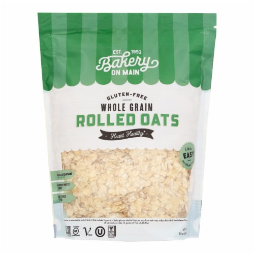 Bakery On Main Happy Rolled Oats - Case of 4 - 24 oz. Perspective: front