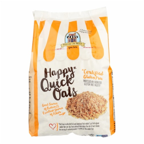 Bakery On Main Happy Quick Oats - Case of 4 - 24 oz. Perspective: front