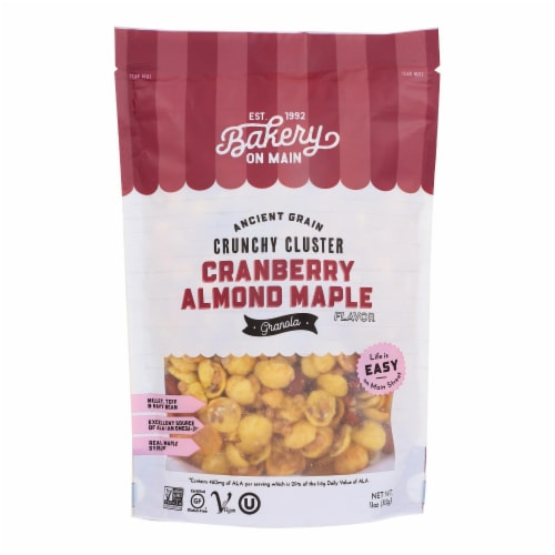 Bakery On Main On Main Nutty Cranberry Granola - Case of 6 - 12 oz. Perspective: front
