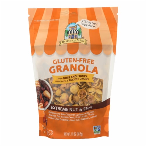 Bakery On Main On Main Gluten Free Granola Extreme - Fruit and Nut - Case of 6 - 12 oz. Perspective: front