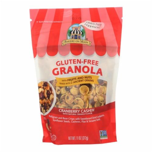 Bakery On Main Gluten Free Granola - Cranberry Orange Cashew - Case of 6 - 12 oz. Perspective: front