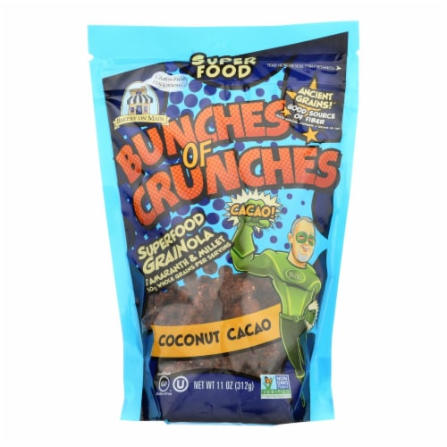 Bakery On Main Bunches of Crunches Granola - Coconut Cacao - Case of 6 - 11 oz. Perspective: front