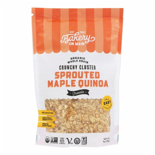 Bakery On Main Organic Happy Granola - Sprouted Maple Quinoa - Case of 6 - 11 oz Perspective: front