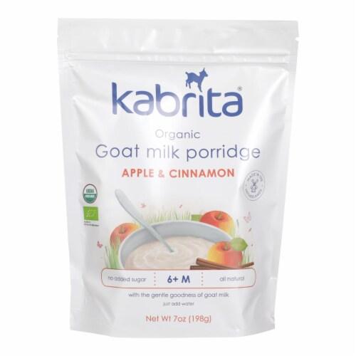 Kabrita - Goat Milk Prrdg Apple Cn - Case of 6 - 7 OZ Perspective: front