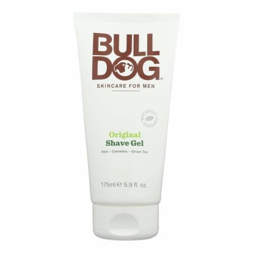 Bulldog Natural Skincare - Shave Gel - Original - 5.9 fl oz Perspective: front