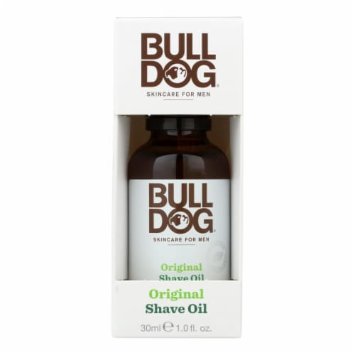 Bulldog Natural Skincare - Shave Oil - Original - 1 fl oz Perspective: front