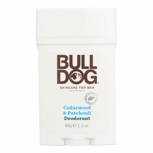 Bulldog Natural Skincare - Deodorant - Cedrwood - Patchouli - 2.4 oz Perspective: front