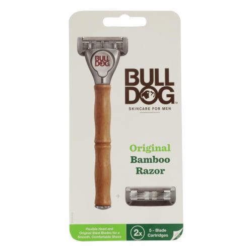 Bulldog Natural Skincare - Razor Bamboo Org - 1 Each - 1 EA Perspective: front