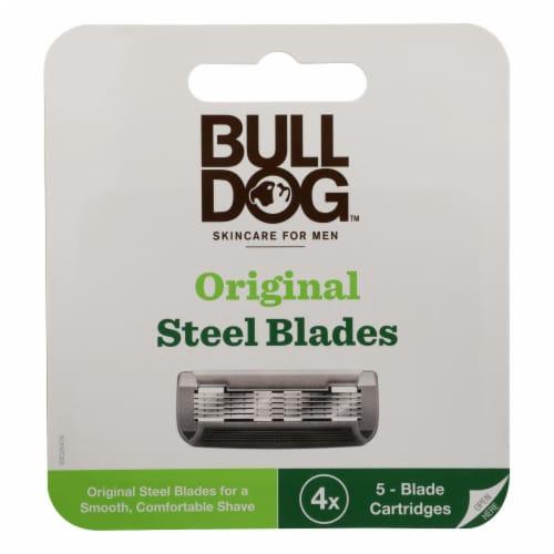 Bulldog Natural Skincare - Razor Refill - 1 Each - 1 EA Perspective: front