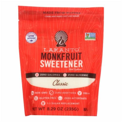 Lakanto - Monkfruit Sweetener - Case of 8 - 8.29 oz. Perspective: front
