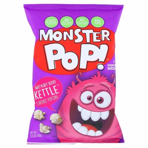 Monster Pop! Sweet 'N Salty Kooky Kettle, 6.5 oz (Pack of 12) Perspective: front