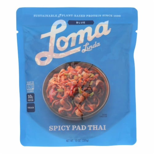 Loma Linda - Spicy Pad Thai - Case of 6 - 10 OZ Perspective: front