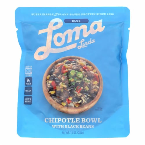 Loma Linda - Chipotle Bowl - Case of 6 - 10 OZ Perspective: front
