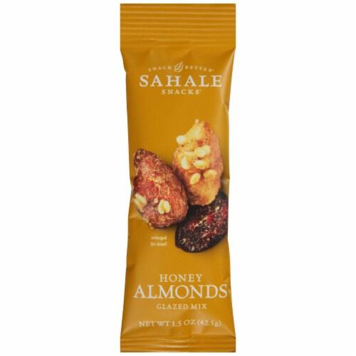 Sahale Snacks Honey Almond Glazed Mix, 1.5 Ounce -- 108 per case. Perspective: front