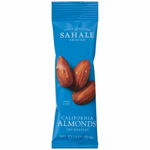 Sahale Snacks Dry Roasted California Almond, 1.5 Ounce -- 108 per case. Perspective: front