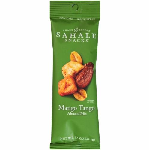 Sahale Snacks Mango Tango Almond Mix, 1.5 Ounce -- 108 per case. Perspective: front