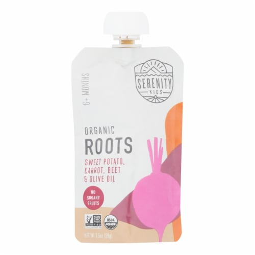 Serenity Kids Llc - Pouch Roots - Case of 6 - 3.5 OZ Perspective: front