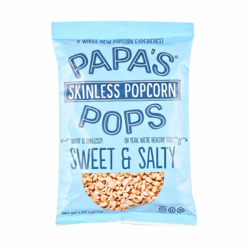 Papa's Pops Sweet & Salty Popcorn Perspective: front