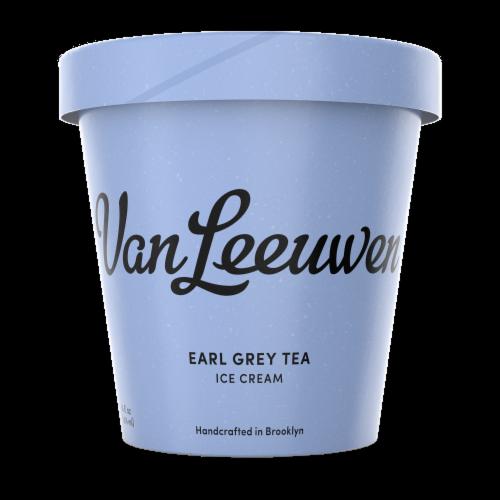 Van Leeuwen Earl Grey Tea Ice Cream (8 Count) Perspective: front