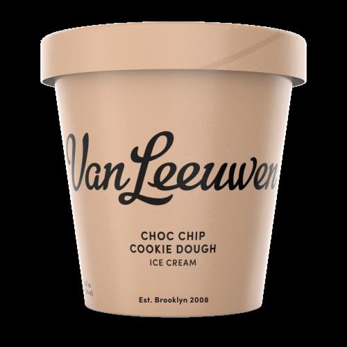 Van Leeuwen Chocolate Chip Cookie Dough Ice Cream (8 Count) Perspective: front