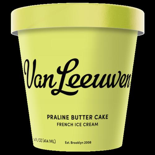 Van Leeuwen Praline Butter Cake Ice Cream (8 Count) Perspective: front